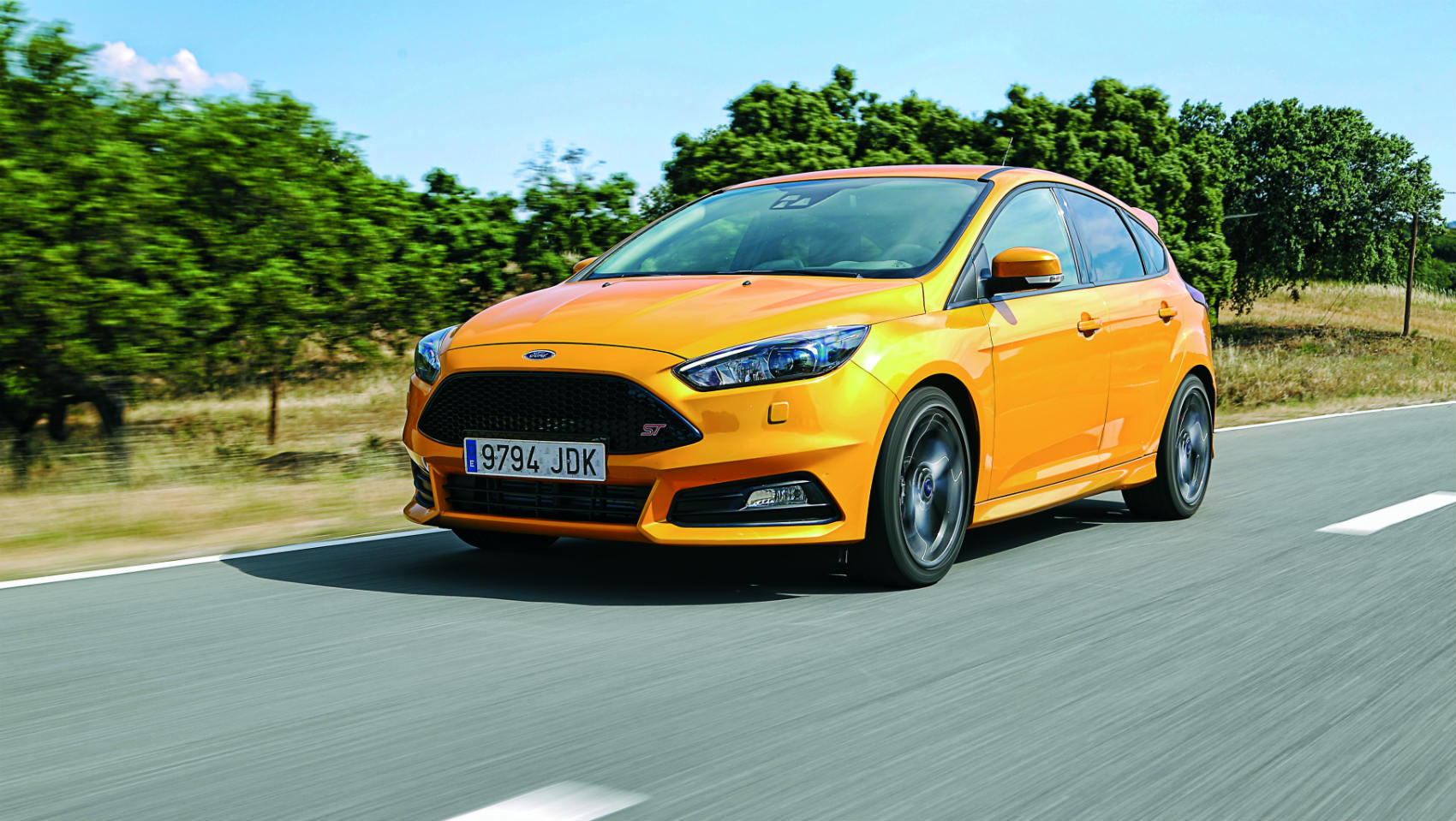 prueba ford focus st 250 cv cargados de emociones. Black Bedroom Furniture Sets. Home Design Ideas
