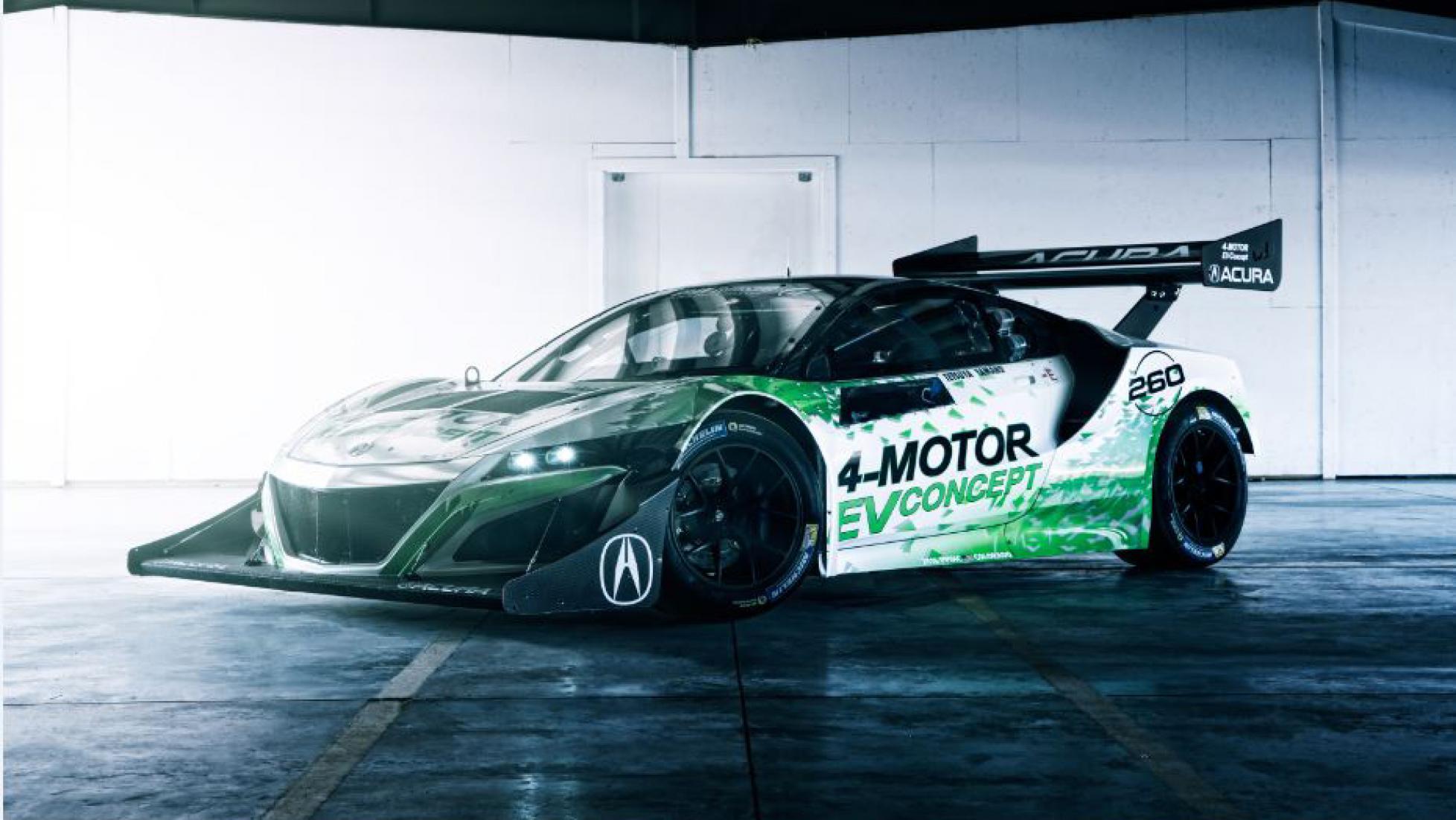 Acura NSX eléctrico para Pikes Peak 2016