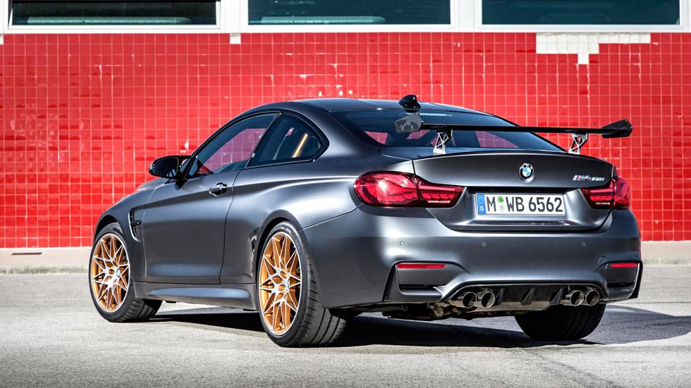 BMW M4 GTS trasera