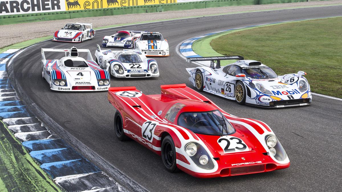 Los porsche ganadores de Le Mans sin el 919 Hybrid