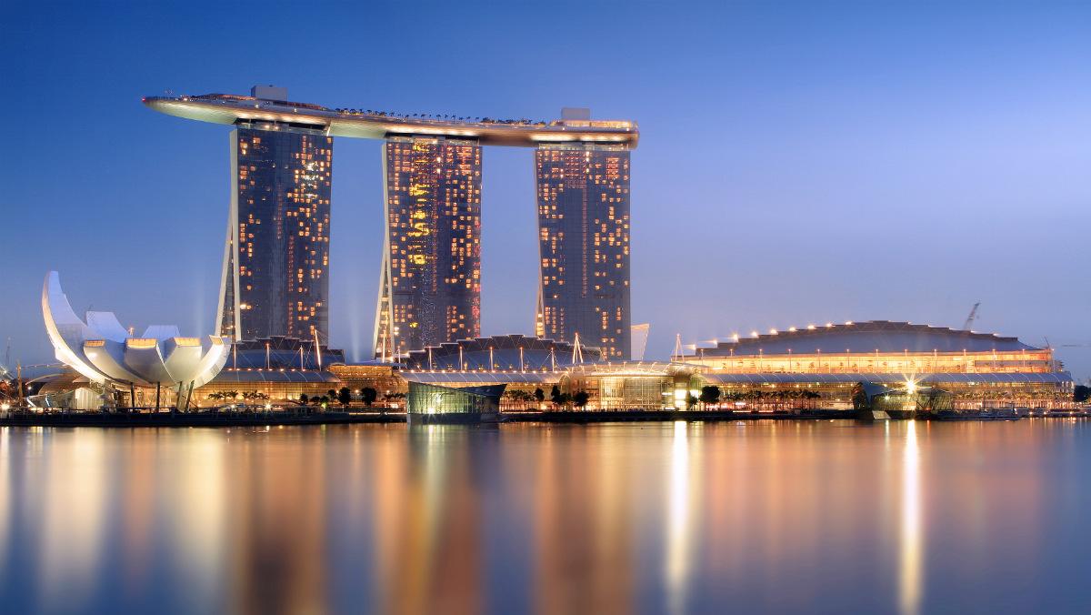 Hotel Marina Bay Singapur