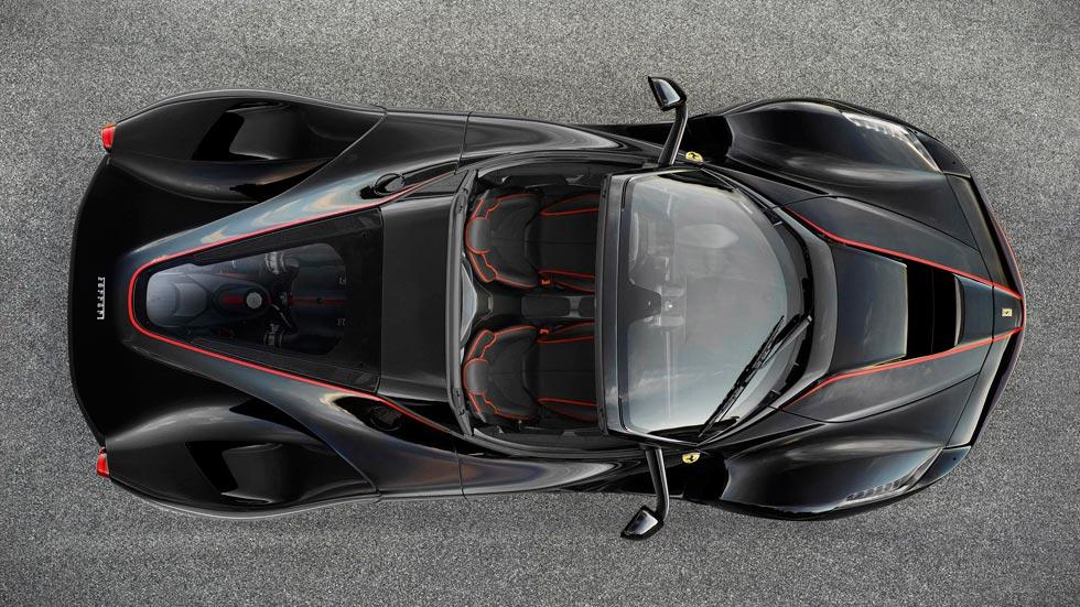 Ferrari LaFerrari Aperta descapotable techo cenital