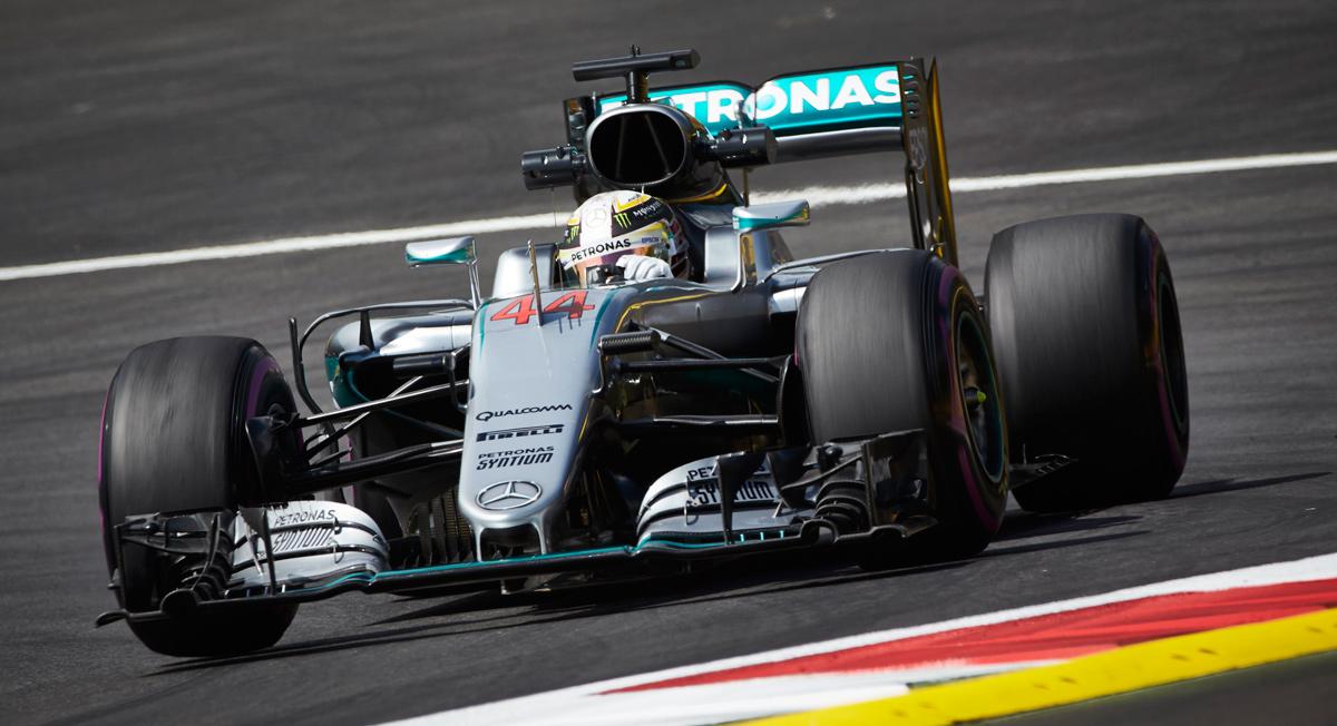 Hamilton GP Austria 2016