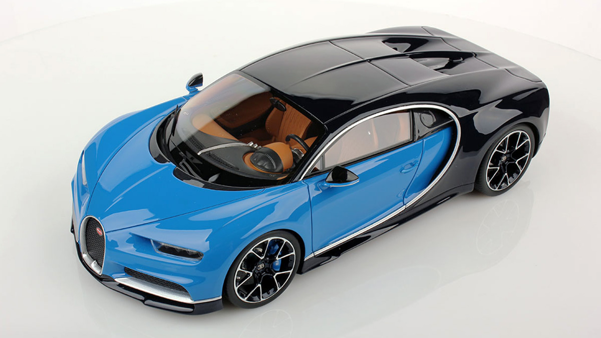 Empieza A Portarte Bien Esta Maqueta Del Bugatti Chiron Lo Petara