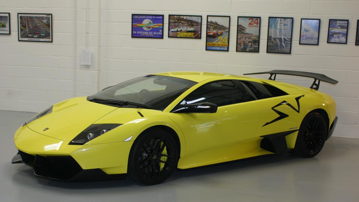 Lamborghini Murcielago SV (II)