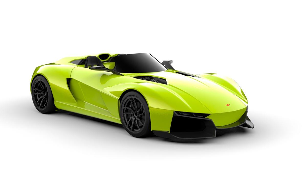 Rezvani Beast configurador deportivo lujo brutal ligero nuevo deportivos