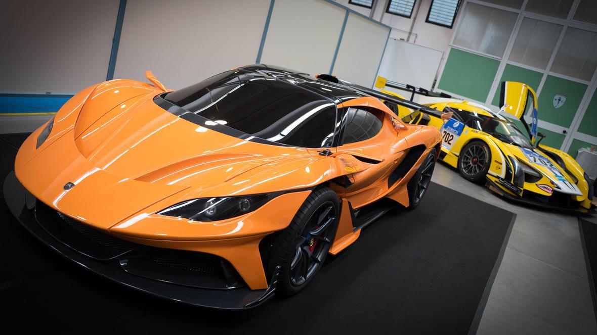 Apollo Arrow scg003 hiperdeportivo naranja deportivo lujo