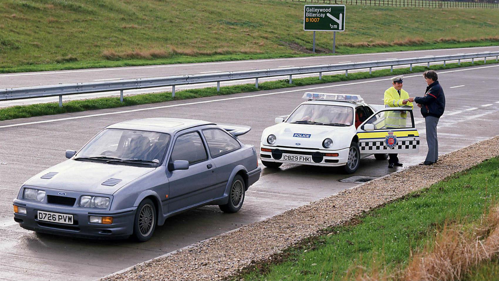 Ford Focus RS de la Policía británica