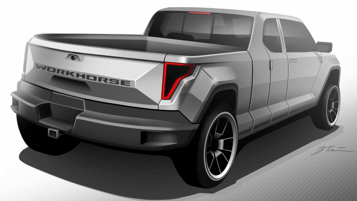 Workhorse W15: el primer pick-up eléctrico del mundo