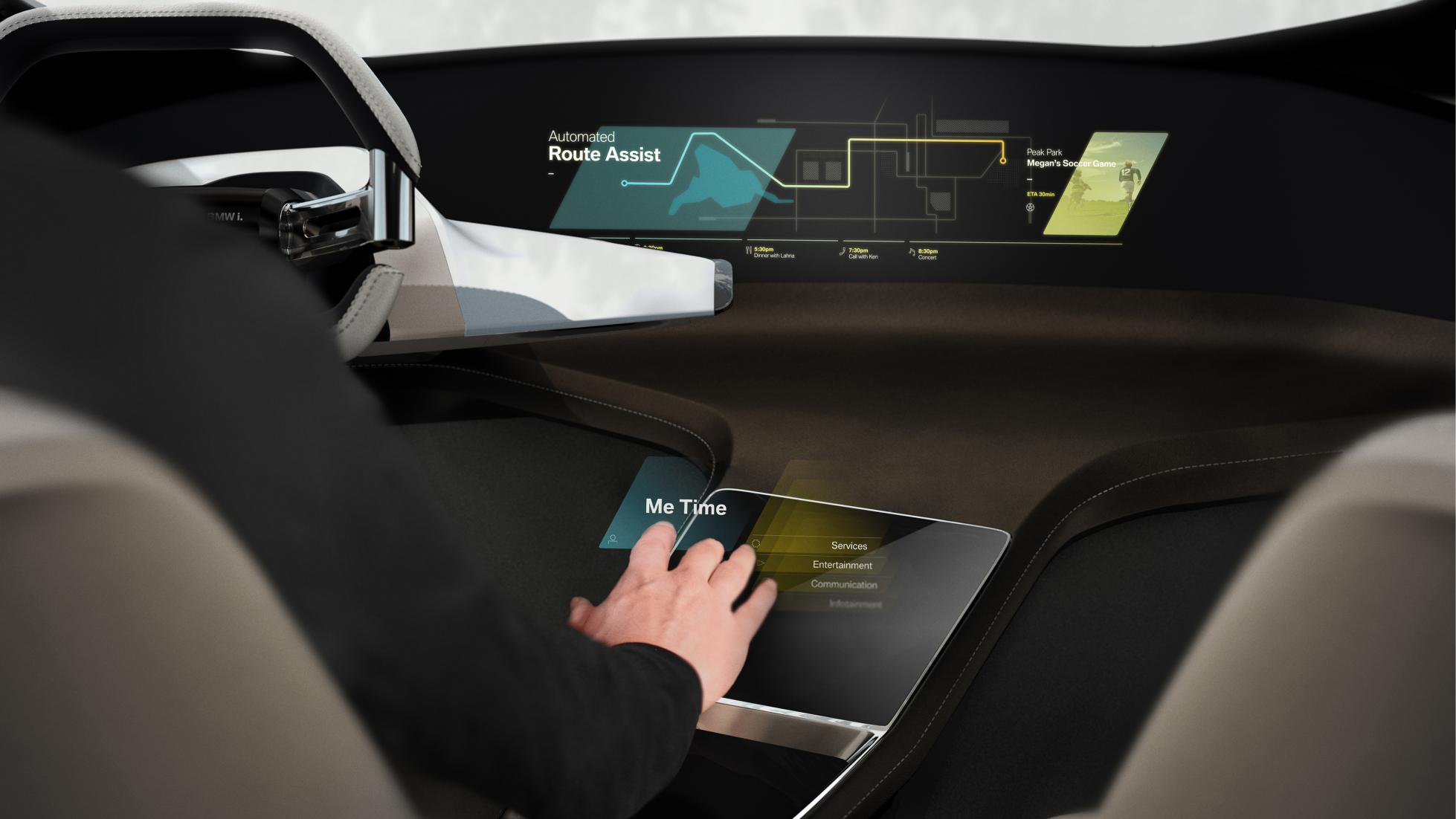 BMW: tecnología por hologramas