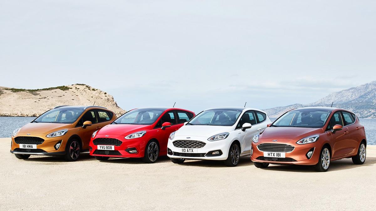 Los coches más robados en España - Ford Fiesta