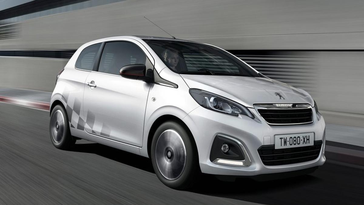 Coches nuevos entre 10000 y 15000 euros: Peugeot 108 (I)