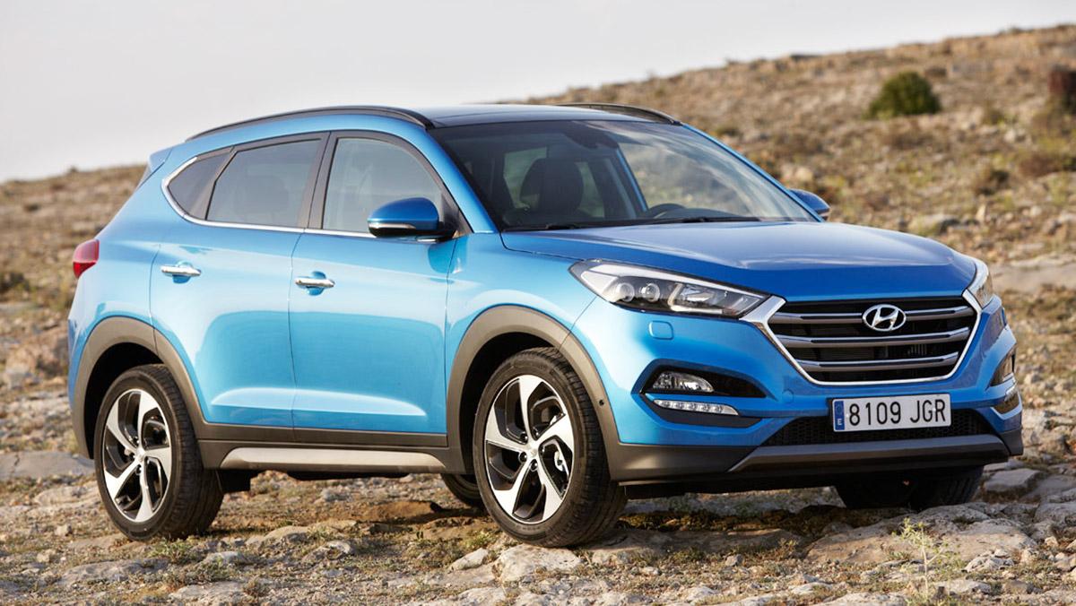 Rivales del nuevo Tiguan 2017 - Hyundai Tucson