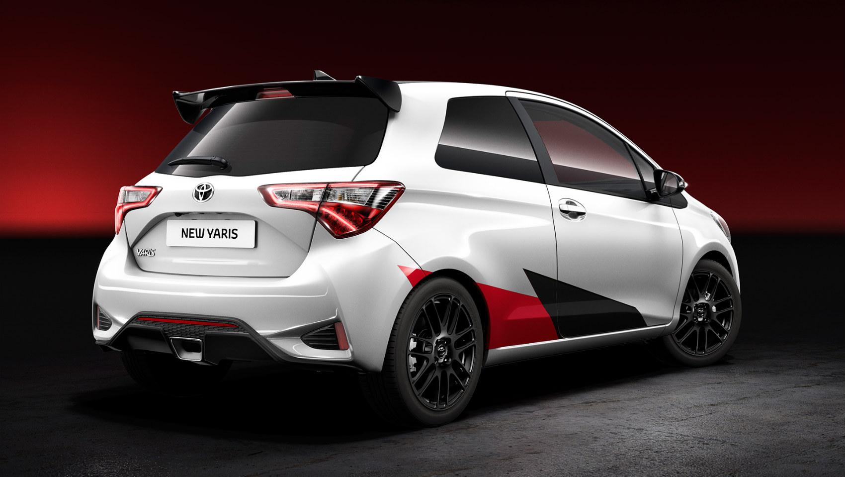 Toyota Yaris con 210 CV