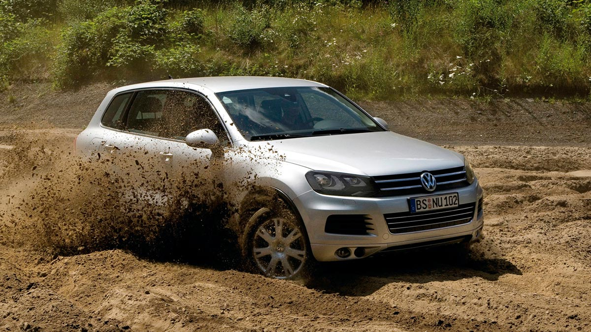 Volkswagen Touareg SUV lujo 4x4