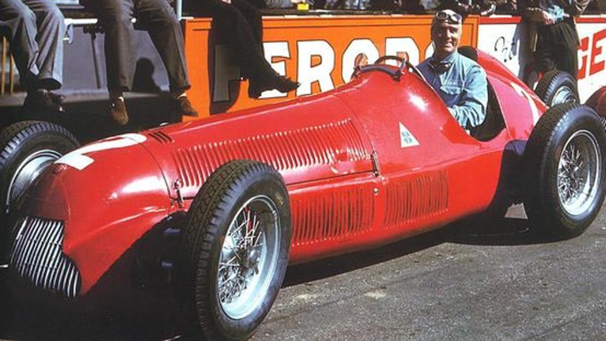1950 Giuseppe Farina ,Alfa Romeo 158