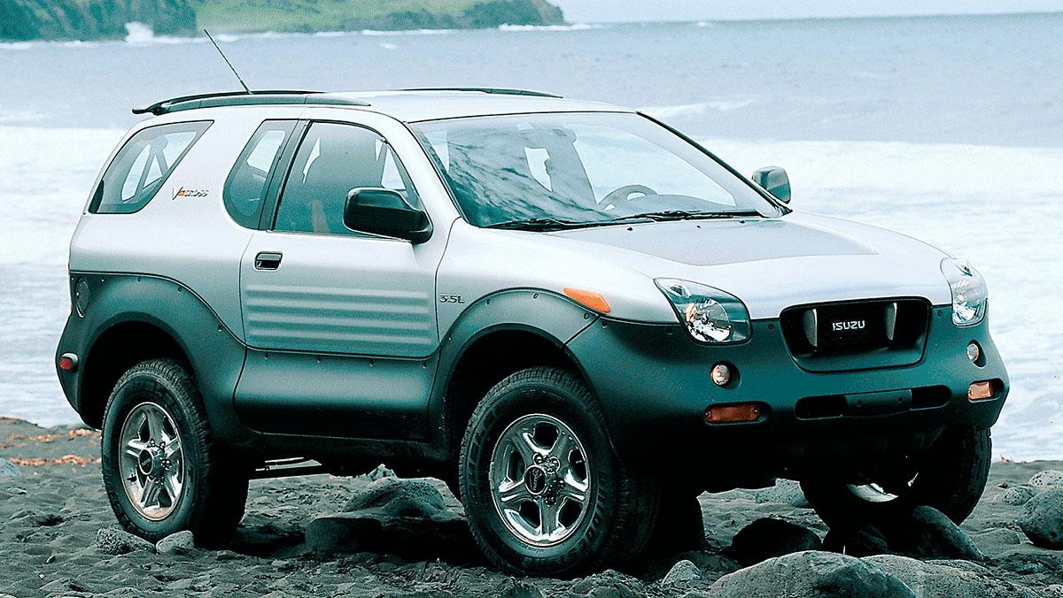Cochazos de marcas que tuvieron que después se hundieron: Isuzu Vehicross