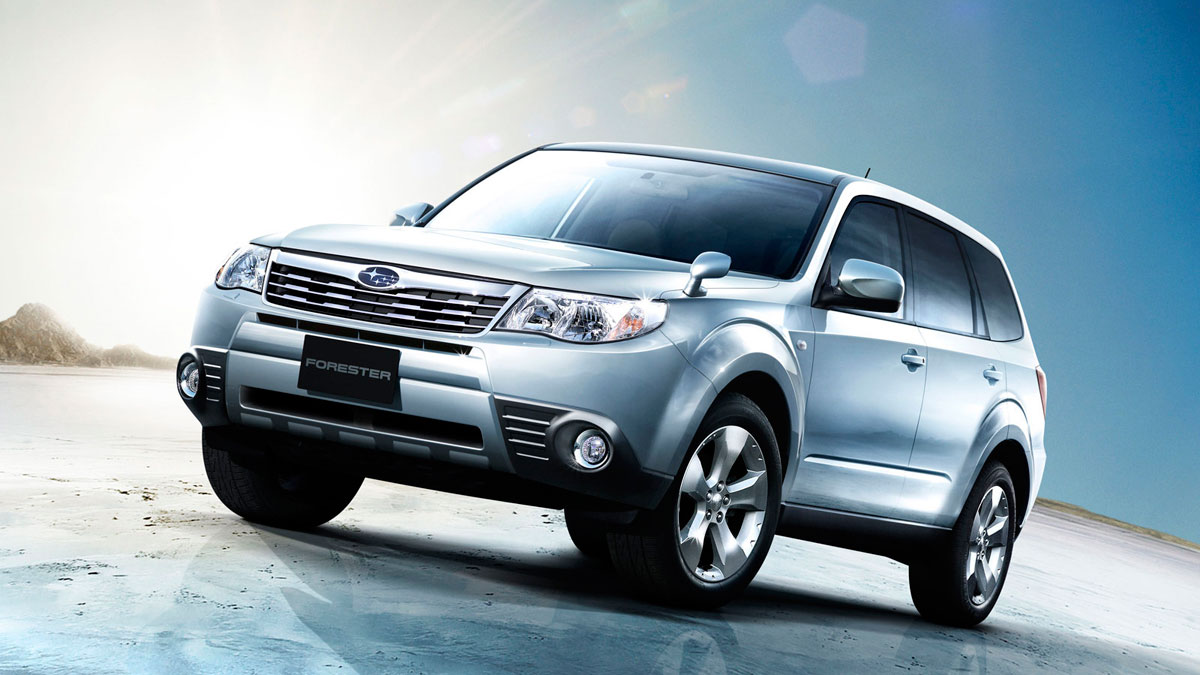 Coche de segunda mano: Subaru Forester 2008