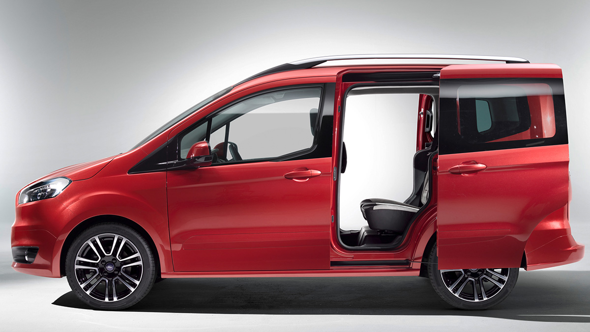 Coches nuevos entre 9.000 y 12.000 euros - Ford Tourneo Courier