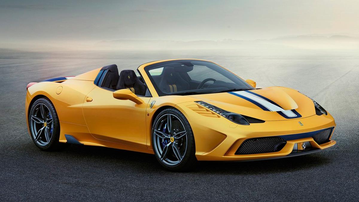 Coches de segunda mano: Ferrari 458 Speciale A (I)