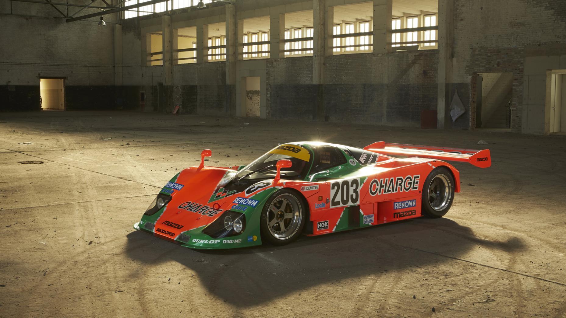 Comprar coches de carreras: Mazda 767B de 1989 (I)
