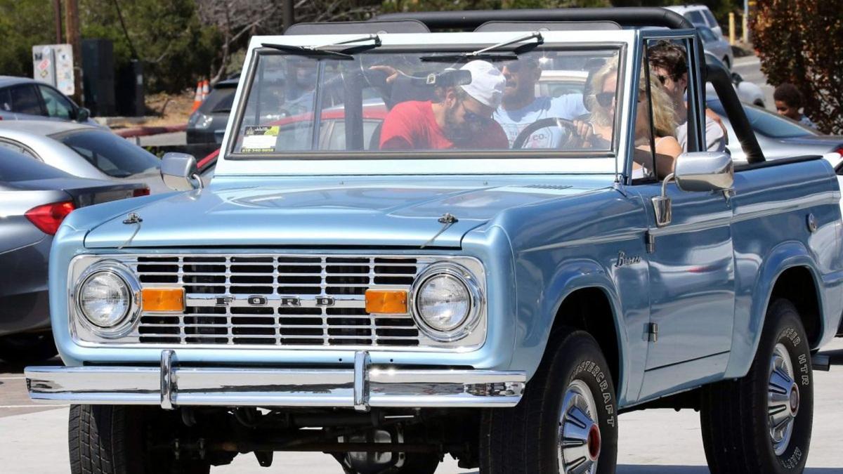 El Ford Bronco de Lagy Gaga