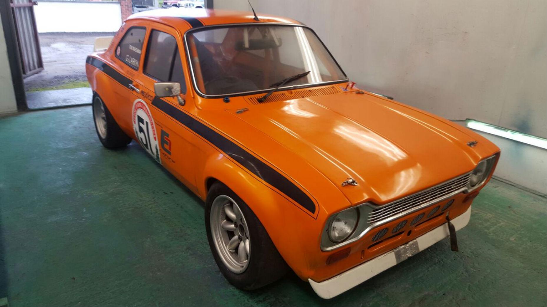 Ford Escort V8 de 1973 (Precio estimado de 18.600 a 23.300 euros)