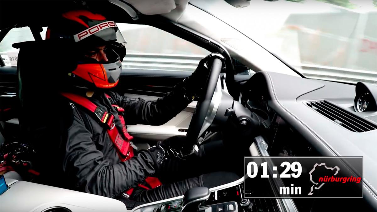 Lars Kern, piloto probador del Porsche Panamera (I)