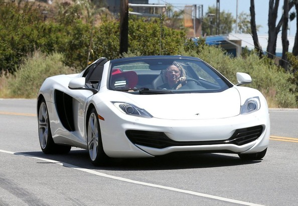 McLaren MP4-12 C Spider de Lady Gaga