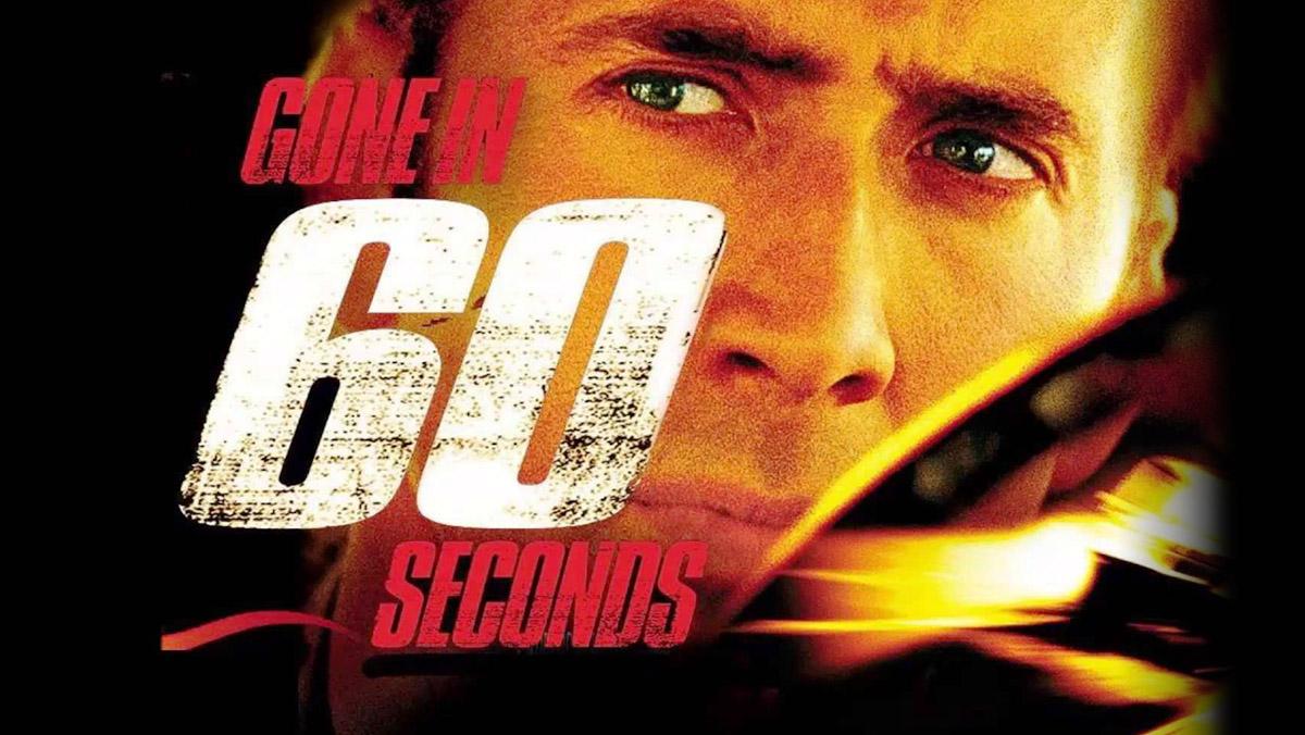 Las mejores películas de coches - 60 segundos