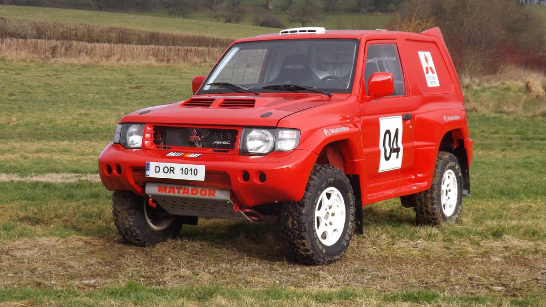 Mitsubishi Pajero Evolution de 1998 (Precio estimado de 17.500 a 23.000 euros)