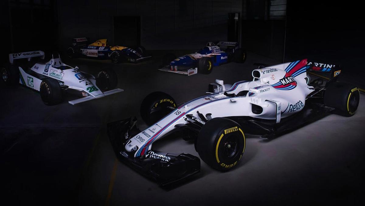 Muy sencillo el nuevo Williams FW40