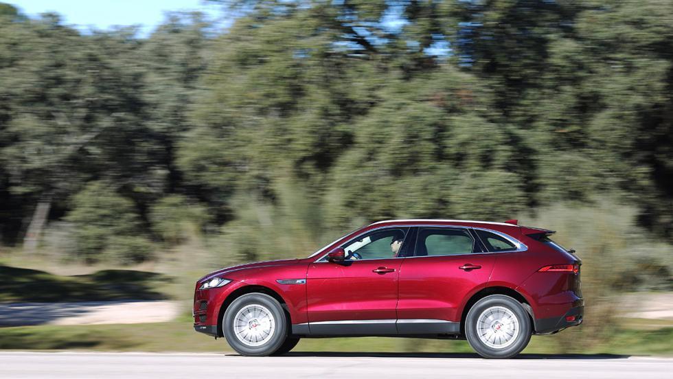 Rivales Range Rover Velar: Jaguar F-Pace (II)