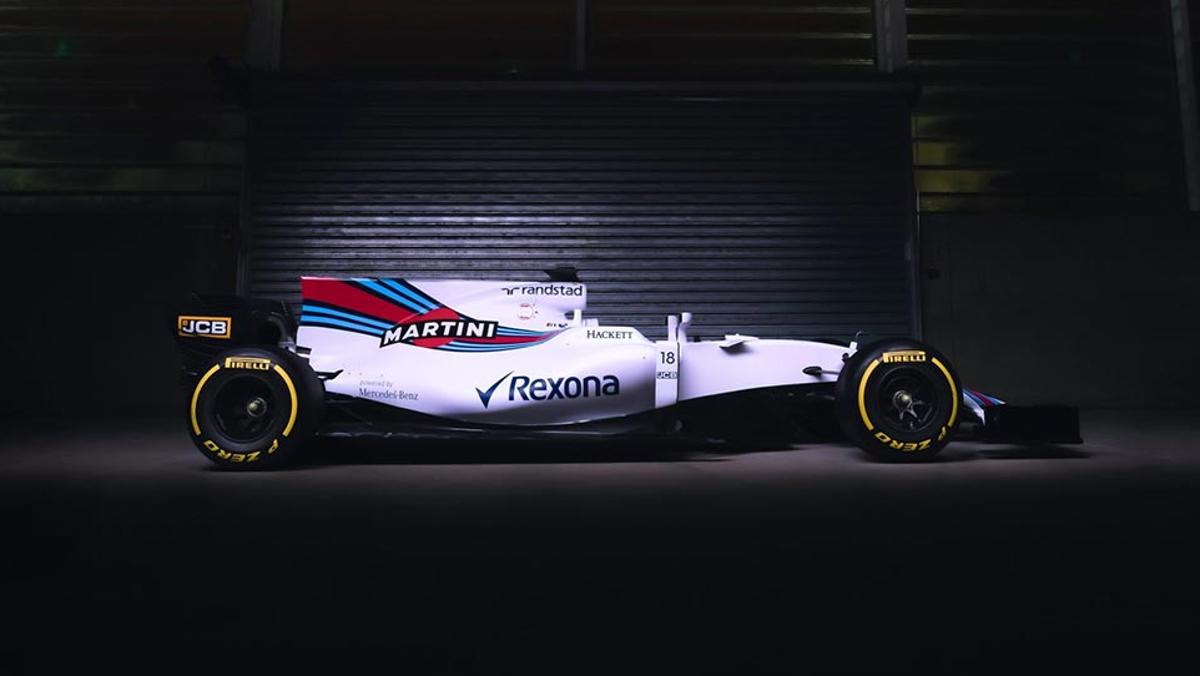Silueta Williams FW40