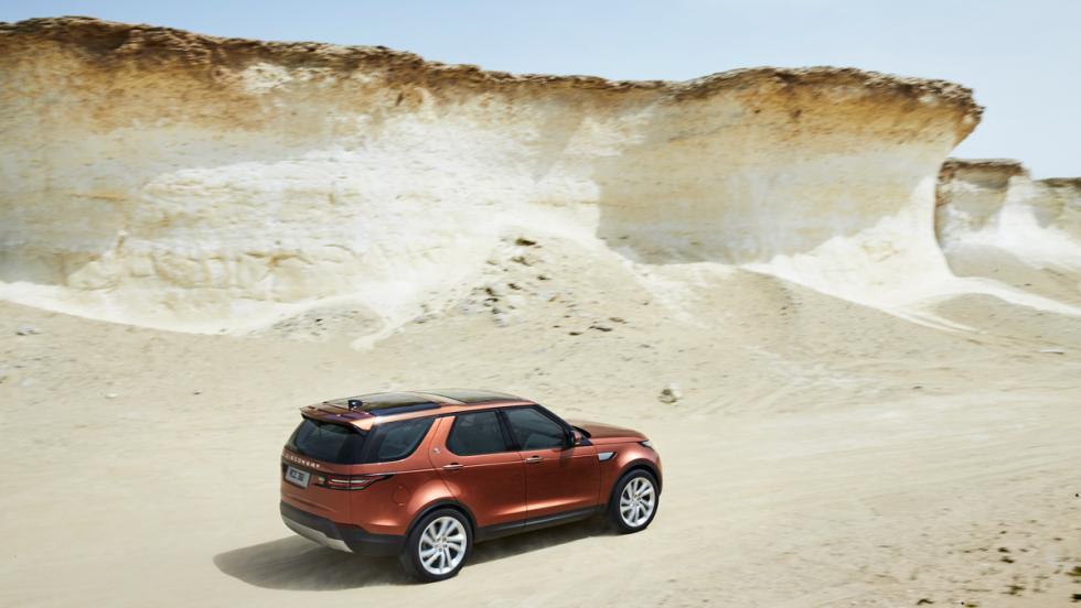SUV 2017: Land Rover Discovery (I)