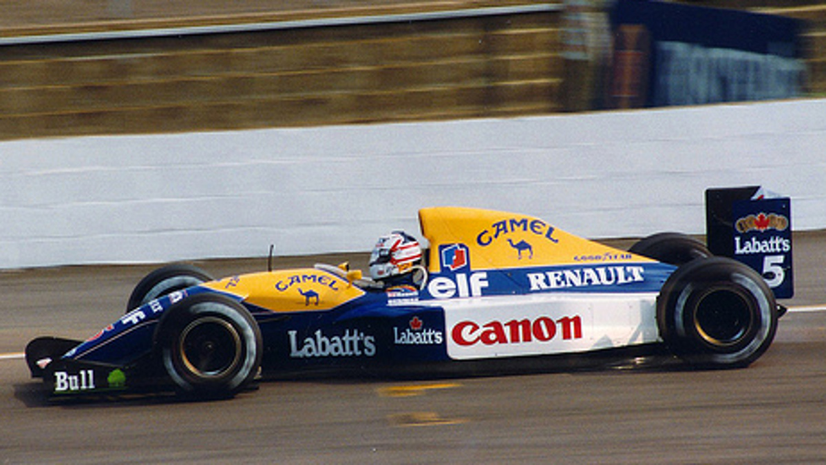 WILLIAMS FW14B MANSELL