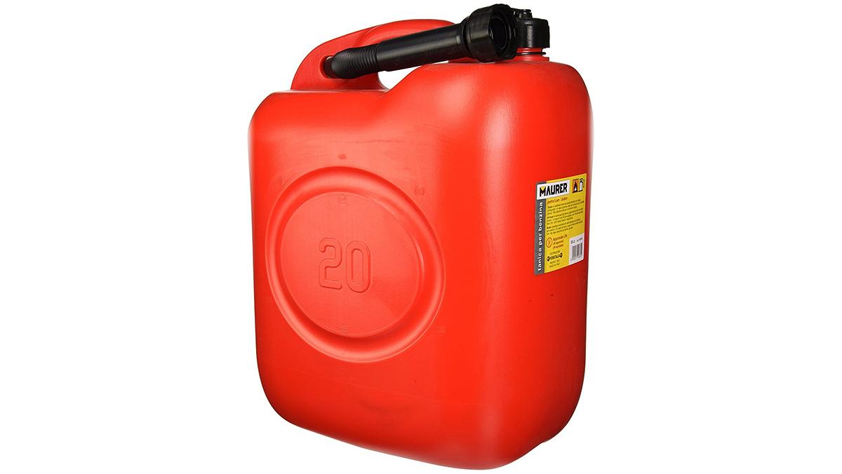 Accesorios para el coche por menos de 20 euros - Garrafa homologada de combustible