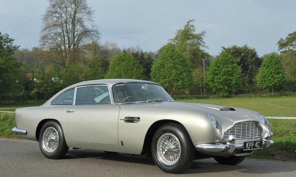 El Aston Martin DB5 1965 de George Harrison