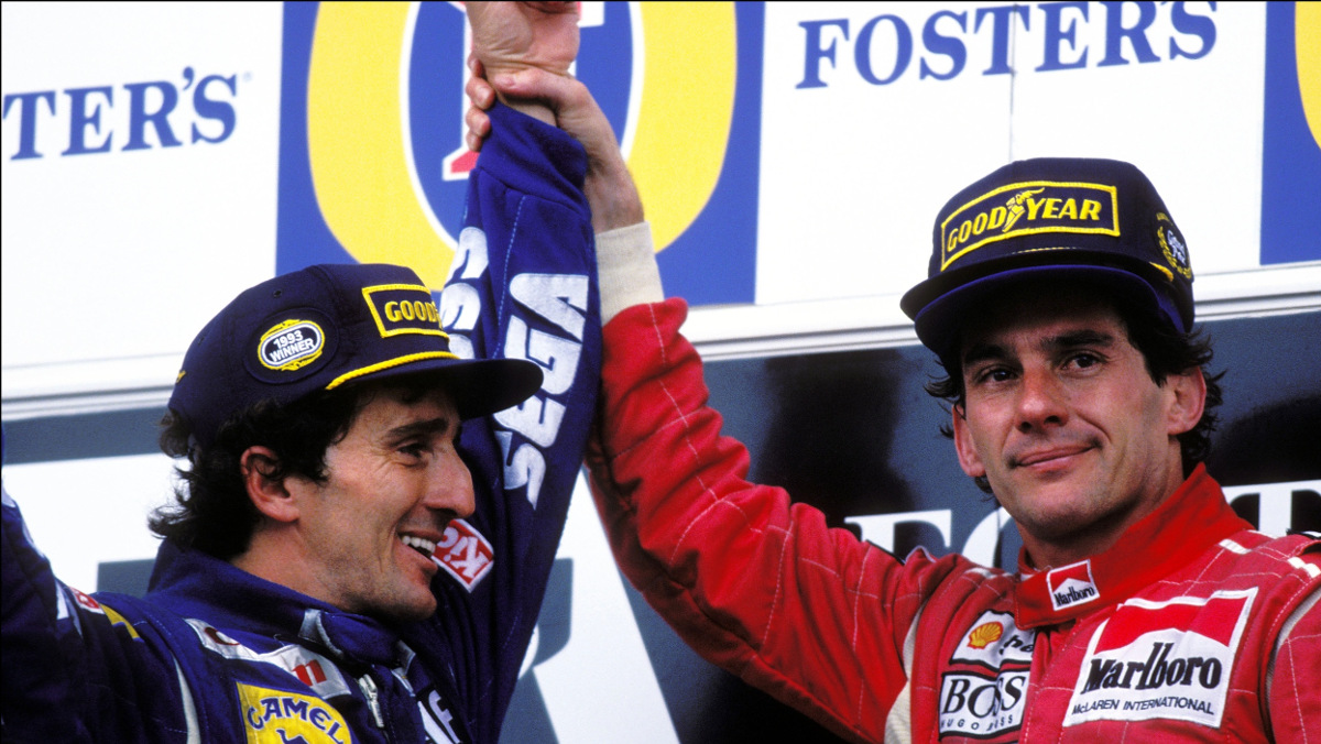 Australia 1993: Reconciliación Senna-Prost