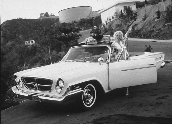 El Chrysler 300 h 1962 Marilyn