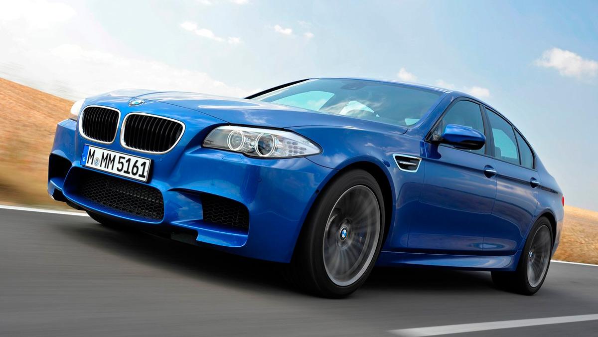 Coches más lentos que el Audi RS5: BMW M5 (II)