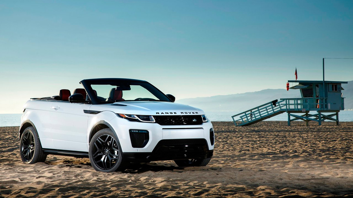 Coches para mujeres: Range Rover Evoque Cabrio (I)