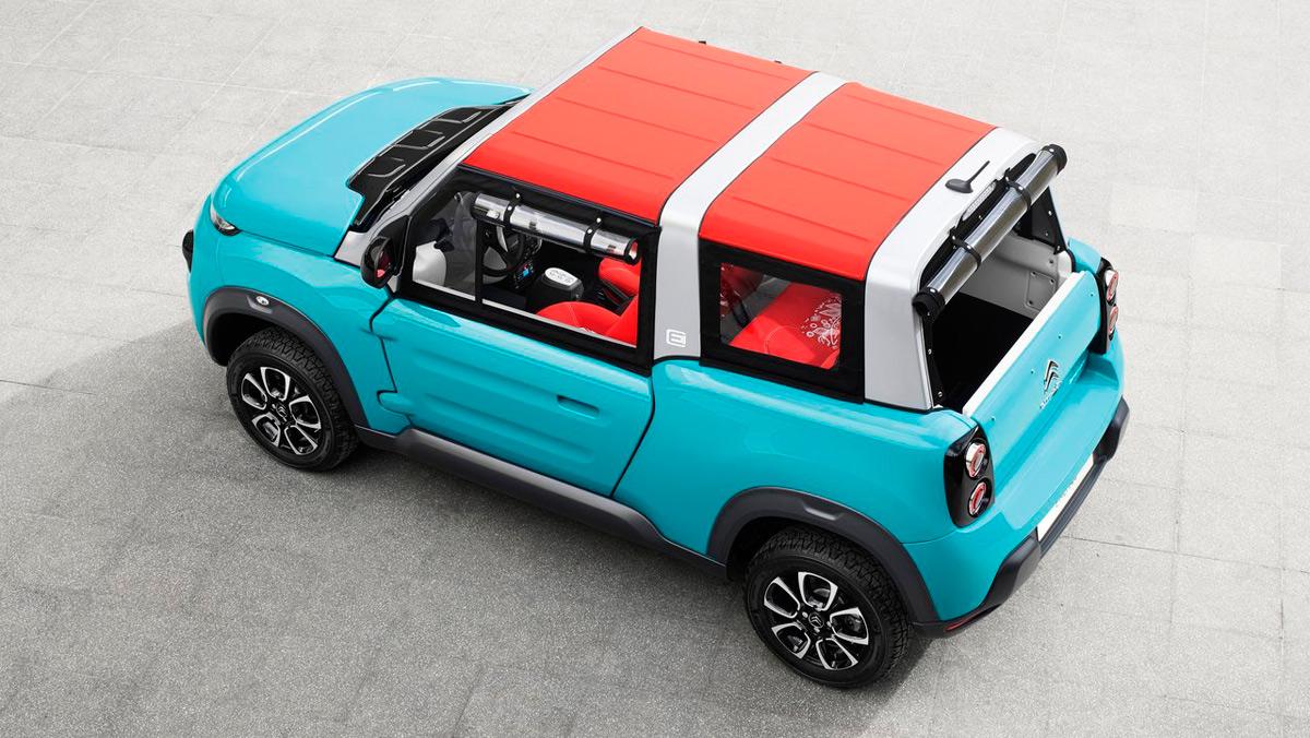 Coches para no regalar a tu padre: Citroën e-Mehari (II)