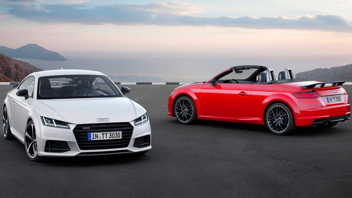 Coches que aparcan solos, Audi TT (I)