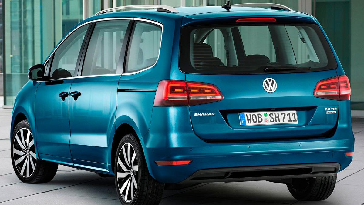 Coches que aparcan solos, Volkswagen Sharan (I)