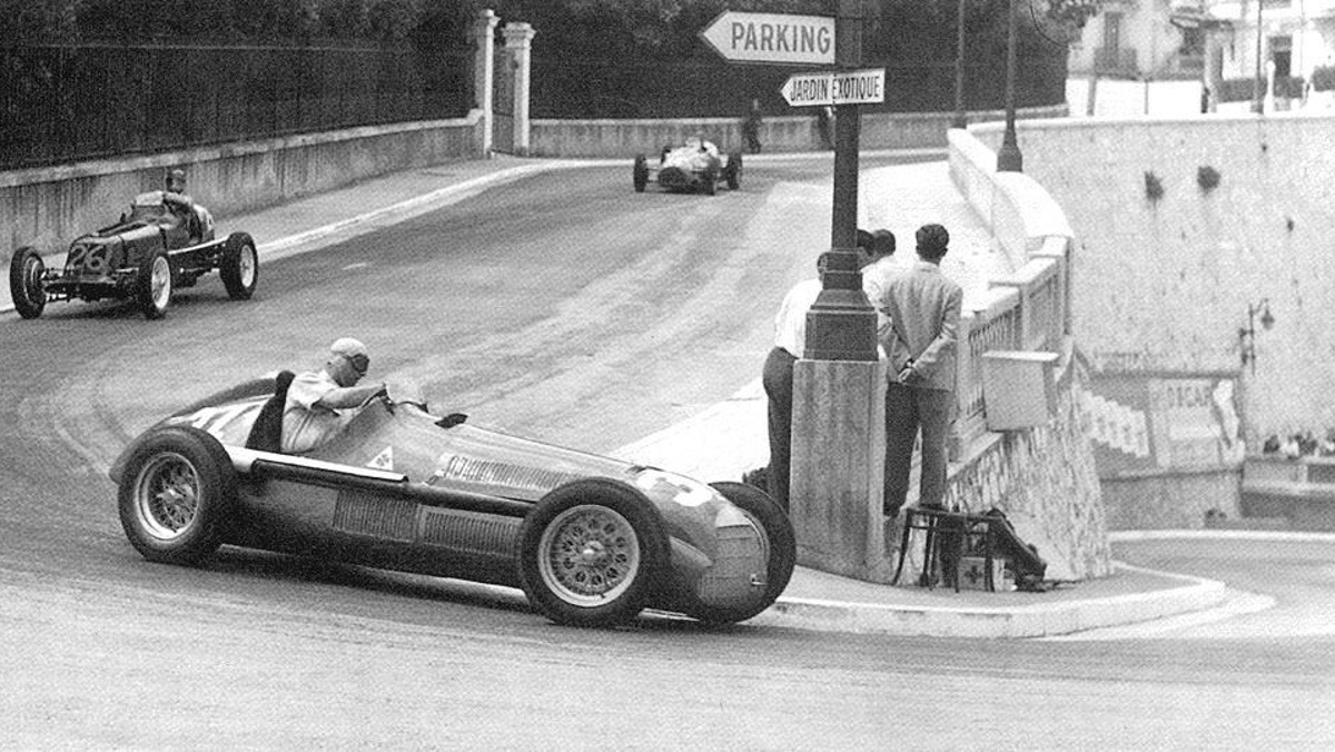 FANGIO MONACO GP 1950 ALFA ROMEO 158