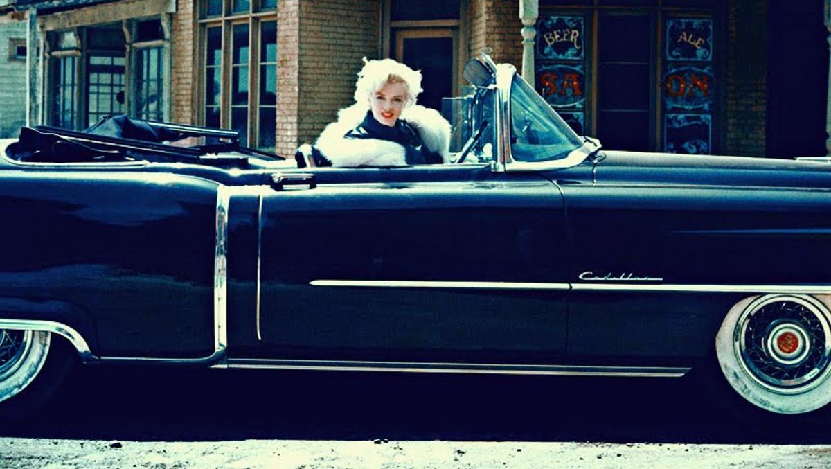 Marilyn y su Cadillac del 54