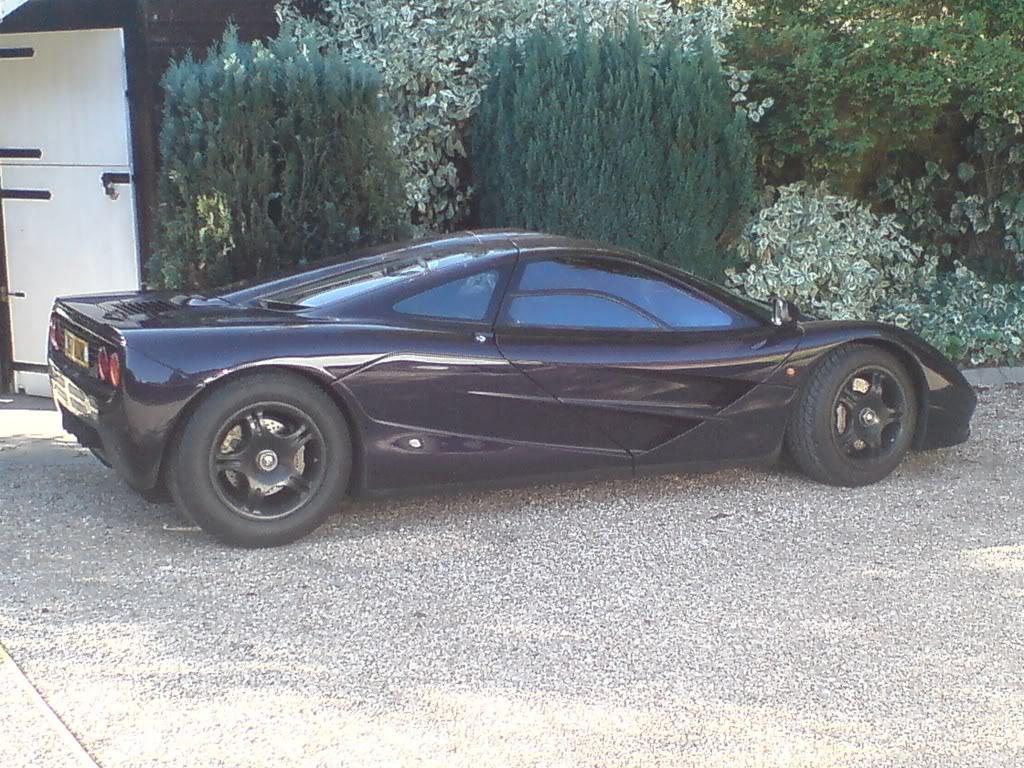 McLaren F1 George Harrison