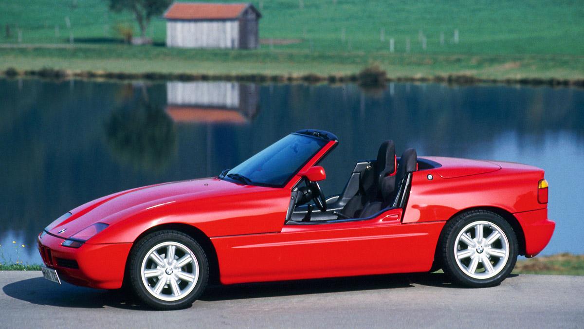 Los mejores BMW de la Historia - BMW Z1