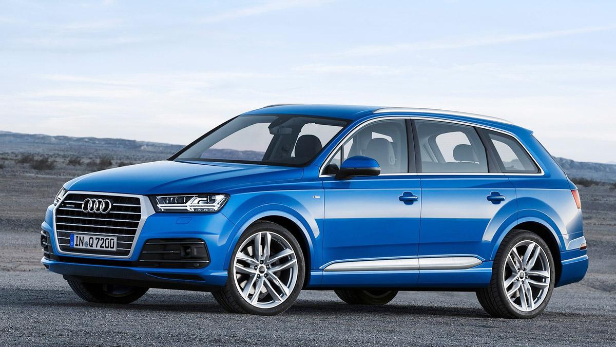 Los mejores coches de siete plazas que puedes comprar - Audi Q7